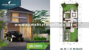 Denah Rumah Type Valeriano Safira Juanda Sidoarjo
