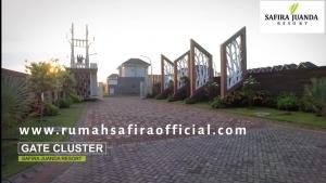 Gate Utama Cluster 2 Lantai Safira Juanda
