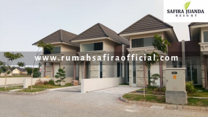 Rumah Contoh Type 45 Cortona Safira Juanda Resort Buduran