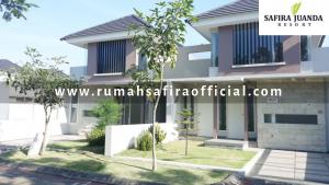 Rumah Contoh Type 52 Snowdrop Safira Juanda Resort Buduran