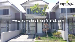 Rumah Contoh Type Cortona Safira Juanda Resort Buduran