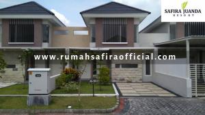Rumah Contoh Type Snowdrop Safira Juanda Resort Buduran