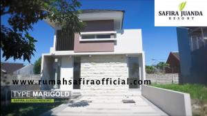 Type Marigold Perumahan Safira Juanda Resort