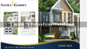 Denah Rumah Type Sancaka Safira Garden