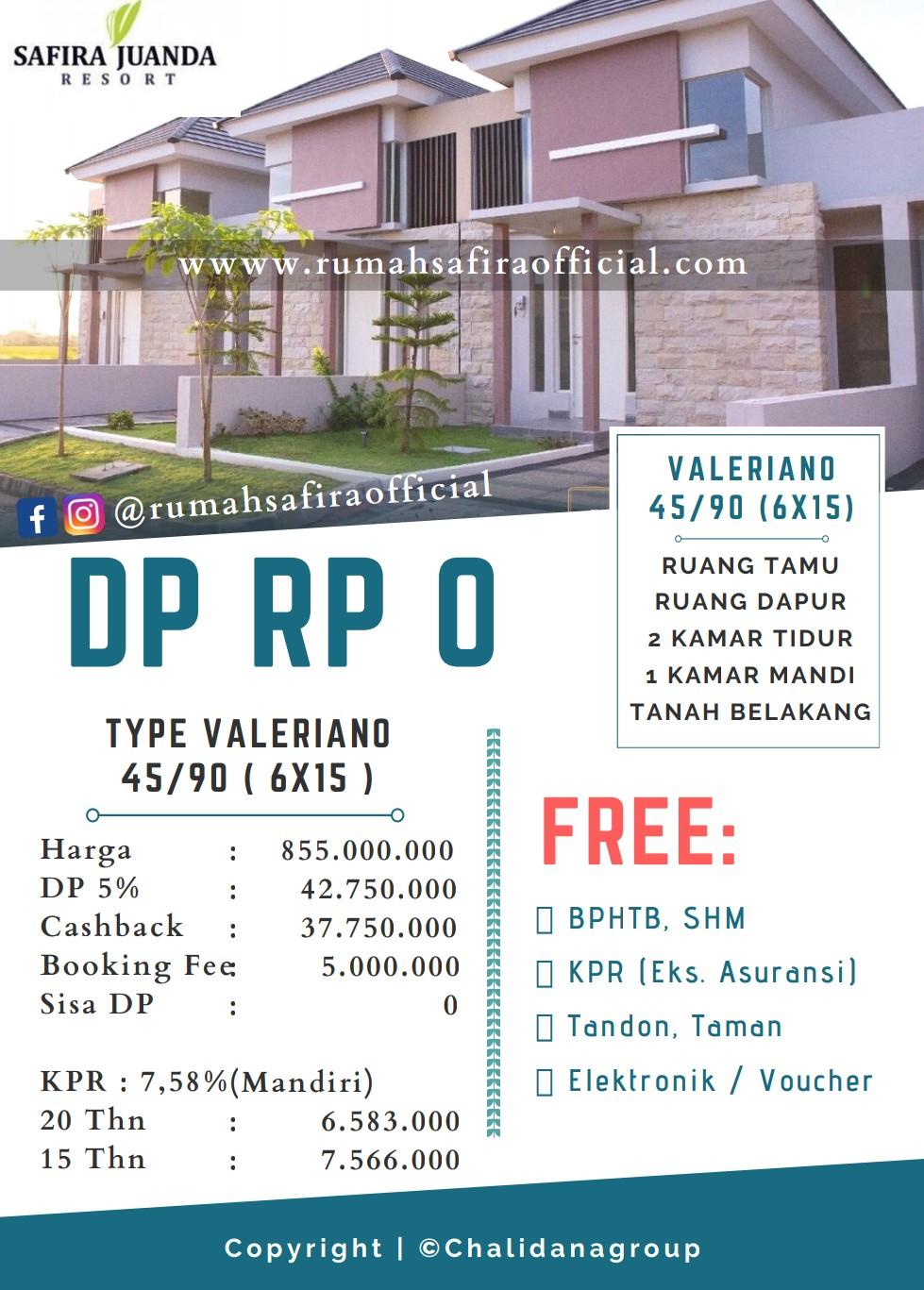 Safira Juanda Resort Siap Huni Dp 0 Rumah Safira Official
