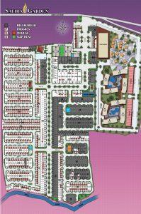 Siteplan Safira Garden
