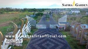 View Gate Utama Safira Garden
