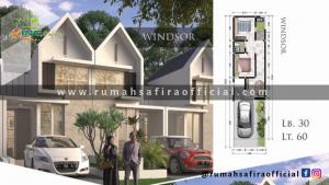 Denah Rumah King Safira Type Windsor