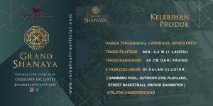 Keunggulan Unit Cluster Grand Shanaya