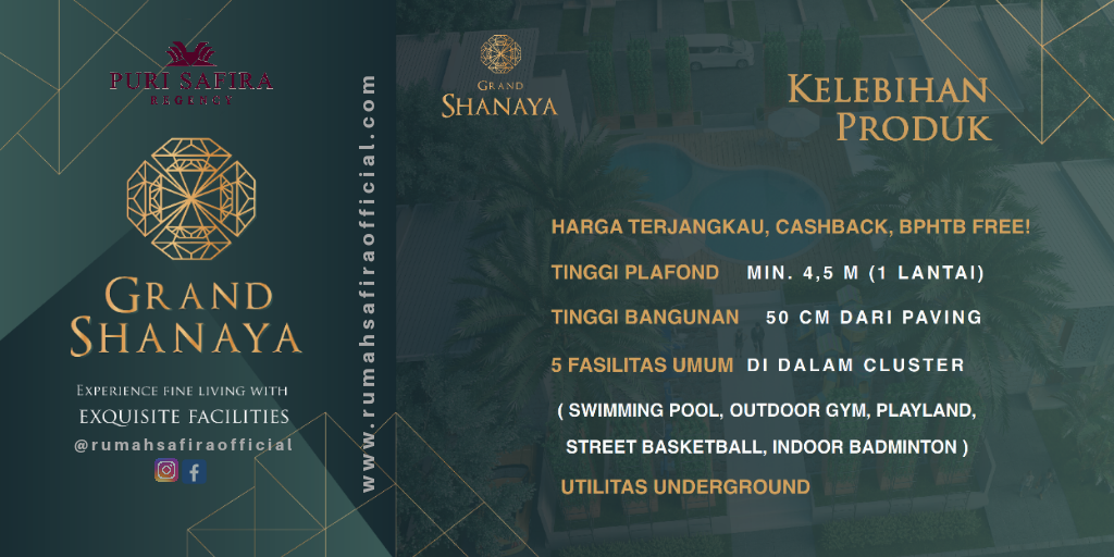 Keunggulan Unit Cluster Grand Shanaya