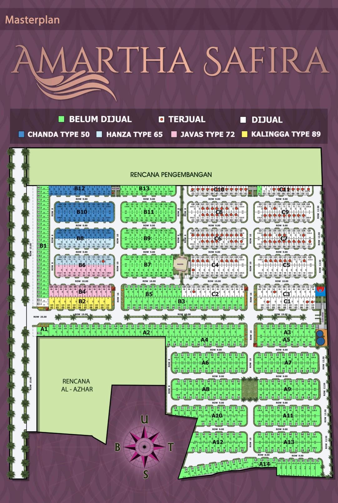 Siteplan Amartha Safira